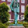 Stock Photo: Statue of composer Edvard Grieg - Bergen Norway