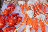 Sfondo pesce fresco — Foto Stock