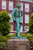 Statue of composer Edvard Grieg - Bergen Norway — Stock Photo