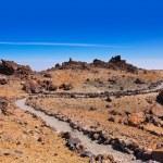 Volcano Teide in Tenerife island - Canary Spain — Stock Photo