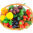 Basket with fruits — Stock Photo #32104635