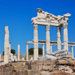 Temple of Trajat Acropolis of Pergamon in Turkey — Stock Photo #32104669