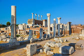 Ruins of st. Johns Basilica at Selcuk Ephesus Turkey — Stock Photo