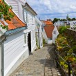 Stock Photo: Street in old centre of Stavanger - Norway