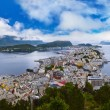 Cityscape of Alesund Norway — Stock Photo #32509173