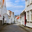 Street in old centre of Stavanger - Norway — Stock Photo #32509197