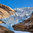 Briksdal glacier - Norway — Stock Photo #32509351