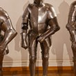 Armour of the knight in Ambras Palace - Innsbruck Austria — Stock Photo