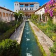 Alhambra palace at Granada Spain — Stock Photo