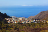 Village in Tenerife island - Canary — Stock Photo