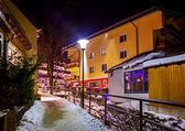 Bergen ski resort bad hofgastein, oostenrijk — Stockfoto