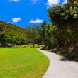 Golf field - island Praslin Seychelles — Stock Photo #33624197