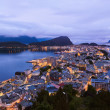 Stock Photo: Cityscape of Alesund - Norway