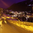 Stock Photo: Mountains ski resort Bad Gastein Austria