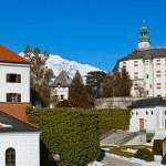 Palace of Ambras - Innsbruck Austria — Stock Photo