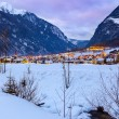 Village Umhausen - Tirol Austria — Stock Photo
