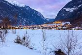 Village Umhausen - Tirol Austria — Stock Photo