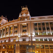 Stock Photo: Madrid Spain at night