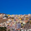 Port and town San Sebastian - La Gomera Island - Canary — Stock Photo