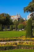 Retiro Park in Madrid Spain — Stock Photo