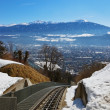 Funicular in Innsbruck Austria — Stock Photo