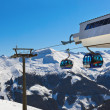 Mountains ski resort Bad Gastein - Austria — Stock Photo