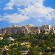 Parthenon temple in Acropolis at Athens, Greece — Stock Photo #34511235