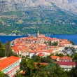 Town Korcula in Croatia — Stock Photo