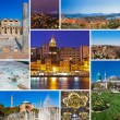 Collage of Turkey images — Stock Photo