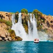 Waterfall Duden at Antalya Turkey — Stock Photo #34569997