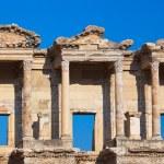 antigua biblioteca celsius en Éfeso Turquía — Foto de Stock