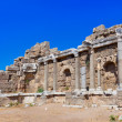 Stock Photo: Old ruins in Side, Turkey