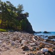 Beach at Phaselis in Antalya Turkey — Stock Photo