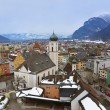 Town Kufstein in Austria — Stock Photo