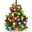 Decorated christmas tree — Stock Photo #35156719