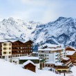Mountains ski resort Solden Austria — Stock Photo #35156779