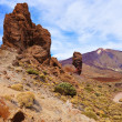 Finger Of God rock at volcano Teide in Tenerife island - Canary — Stock Photo