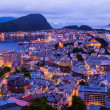 Cityscape of Alesund - Norway — Stock Photo