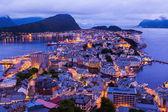Cityscape of Alesund - Norway — Stock Photo