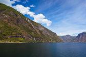 Fjord Naeroyfjord - Norway — Photo