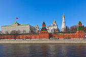 Kremlin in Moscow (Russia) — Foto de Stock