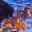 Mountains ski resort Bad Gastein Austria — Stock Photo