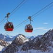 Mountains ski resort - Innsbruck Austria — Stock Photo