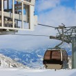 Mountains ski resort Kaprun Austria — Stock Photo