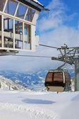 Mountains ski resort Kaprun Austria — Stock Photo