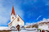 Mountain ski resort obergurgl austria — Foto Stock