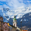 Old town in Innsbruck Austria — Stock Photo
