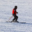 Skier at mountains ski resort Innsbruck - Austria — Foto Stock