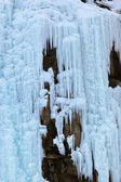 Ice wall at mountains — Foto de Stock