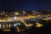 Salzburg at night - Austria — Stock Photo